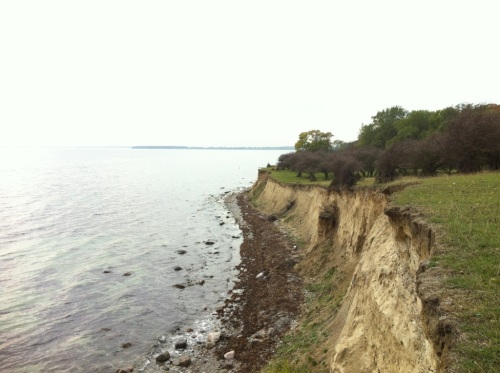 Romsø cliffs