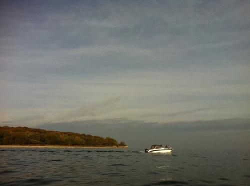 Leaving Romsø
