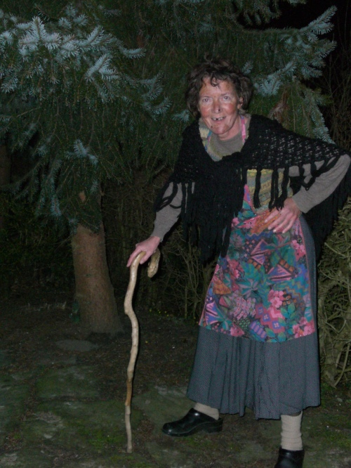 My Mum the witch
