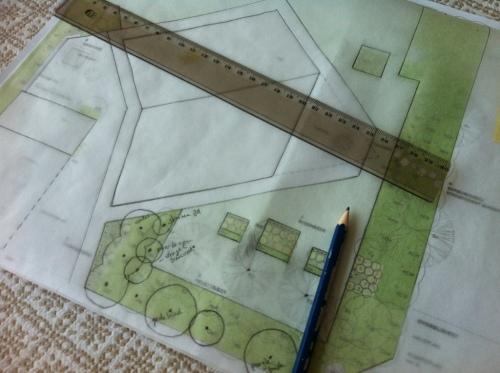 Planning Mum's garden