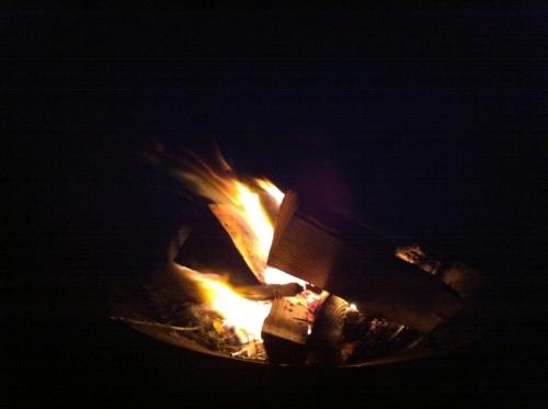 Bonfire for Dad