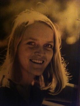 Mum in LA in 1972