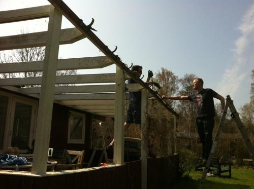Dismantling roof